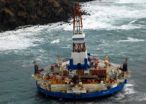 Kulluk oil rig - Arctic