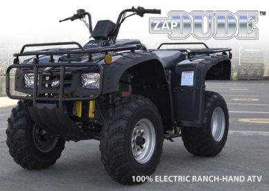 Zap Dude Electric Atv