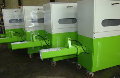 Styrofoam compactor
