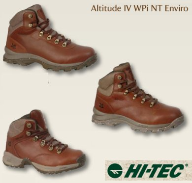 Altitude IV WPi NT Enviro walking boot